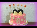 Кремовый торт Минни Маус Украшение тортов Cream Cake Minnie Mouse Cake Decoration