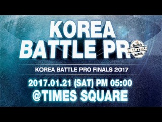 [SEMI-1]FUSION MC vs SOUL BURNZ(w) @ KOREA BATTLE PRO 2017 | T.I.P CREW x MASTER PLAN | LB-PIX