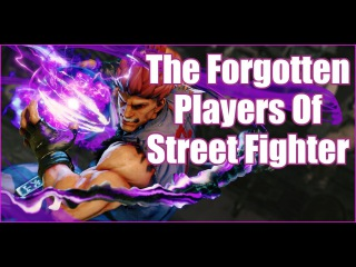 The Forgotten Players Of Street Fighter.. Part 1