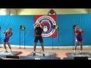 Russian military championship Ilya Tashlanov VS Aleksander Khvostov jerk 32 kg kb
