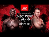 UFC Fight Night Saint Preux vs Okami - SEP 22 FRI