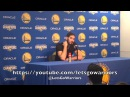 OMRI CASSPI, postgame Warriors (4-2) vs Wizards: Looney, on staying ready, Draymond, having fun