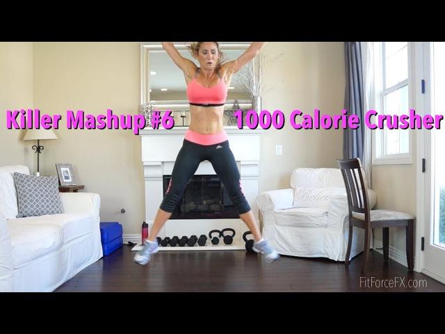 1000 Calorie Crusher Killer Mashup No.6 1000calorieworkout bodytoner fatburn getfit HIIT