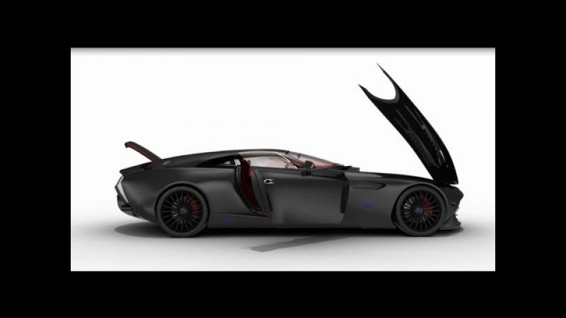 Automobil iz Srbije - Aqos Technologies
