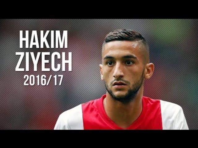 Hakim Ziyech • Skills Goals • Ajax 2016/2017