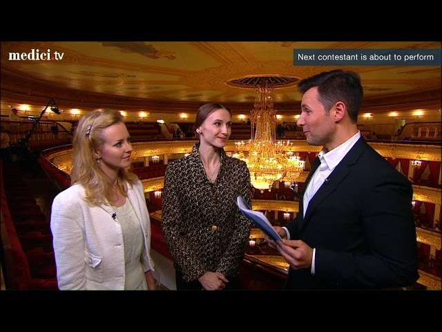 MoscowBalletCompetition13 - Interview with Svethlana Zakharova