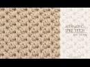 How To Crochet The Alternating Spike Stitch Easy Tutorial by Hopeful Honey