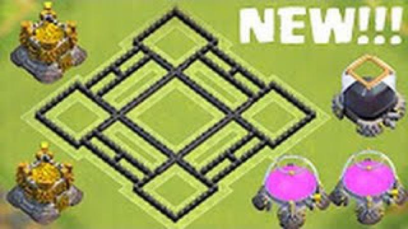Best farming base for th8(лучшая фарм база для ратуши 8) 2016