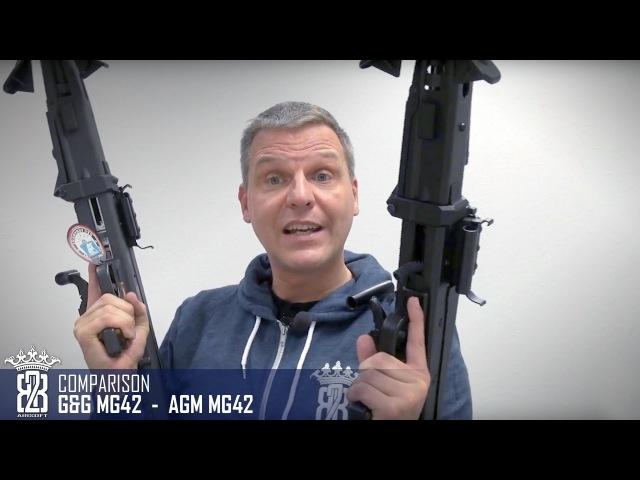 GG MG42 vs AGM / GSG MG42   Deutsch - English Subtitle