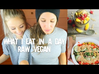 What I Eat In A Day || RAW VEGAN