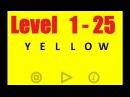 Yellow - Level 1 - 25 Bart Bonte - Android game - Walkthrough