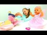 Кукла #ЭМИЛИ БЕБИ БОН ИДЁТ НА ДЕНЬ РОЖДЕНИЯ! Игры для девочек Дочки-матери #BabyBorn Emily