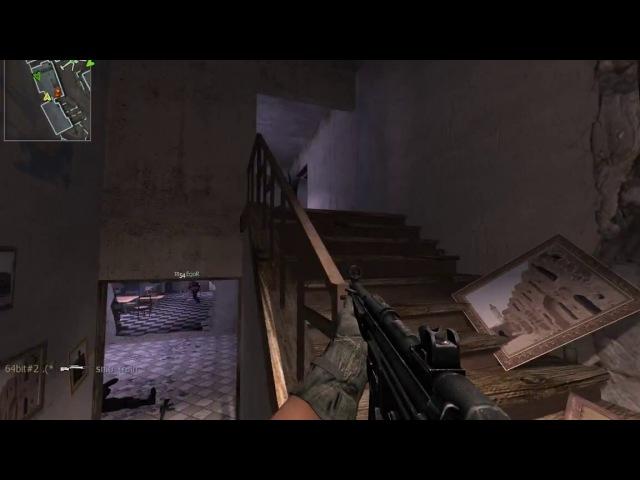 Call of Duty 4 Modern Warfare Мультиплеер геймплей
