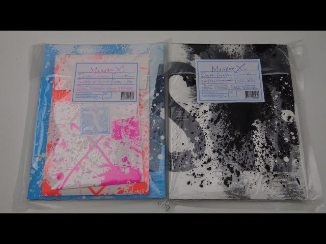 Unboxing Monsta X 몬스타엑스 1st Studio Album Repackage Shine Forever (Both A B Edition) » Freewka.com - Смотреть онлайн в хорощем качестве