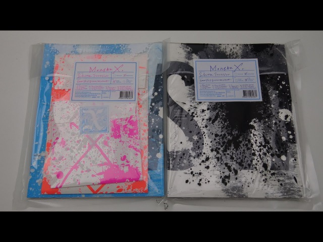 Unboxing Monsta X 몬스타엑스 1st Studio Album Repackage Shine Forever (Both A B Edition)