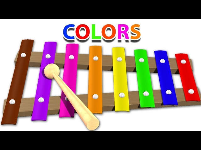 Finger Family Song Xylophone Nursery Rhymes Learn Colors for Kids Body Paint kids channel