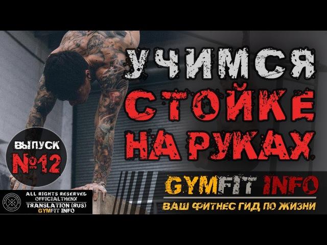 КРИС ХЕРИА. СТОЙКА НА РУКАХ для начинающих. 100% Обучалка - 4 простейших шага GymFit INFO