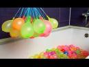 Что если сделать целую ванну водяных бомбочек и залезть в нее?