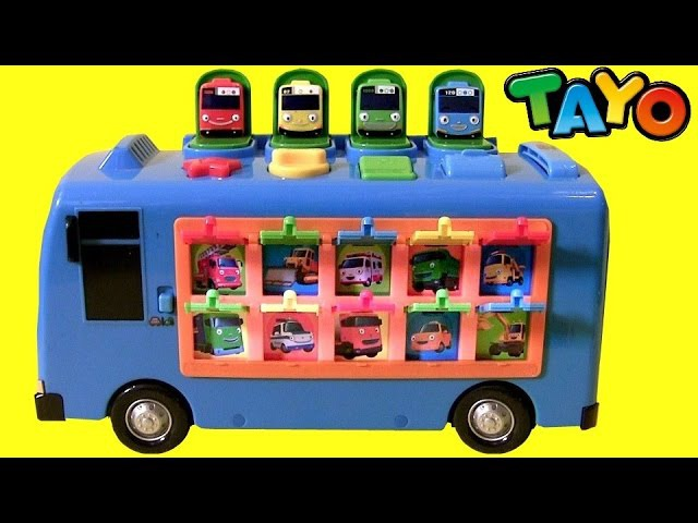 Tayo the Little Bus Pop up Surprise Pals 똑똑한 꼬마버스 타요 장난감 тайо маленький автобус