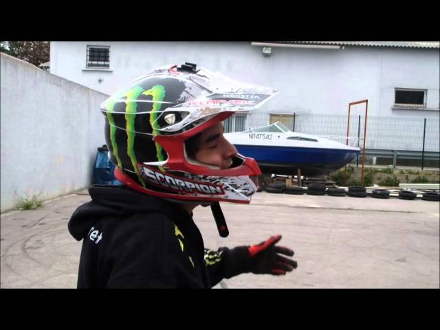 Jorian Ponomareff Stunt and Drift with Power Bike Montpellier