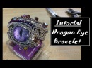 Wire Wrapped Dragon Eye Bracelet
