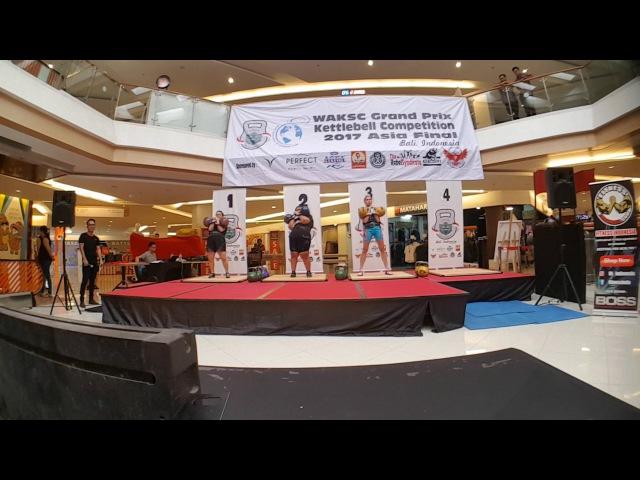 Asian Grand Prix Bali 2017 Biathlon Jerk Female 2