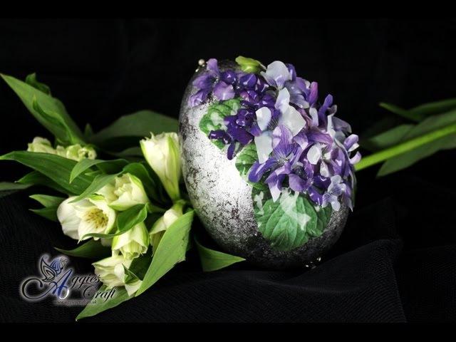 Decoupage Tutorial - Easter Egg with Sospeso Trasparente - DIY Tutorial
