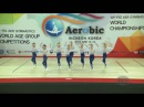 Finland (FIN) - 2016 Aerobic Worlds, Incheon (KOR) - Qualifications Dance