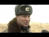 Чечня. 6 января,  2000. Полковник Юрий Буданов. Поздравляет чеченов с Рождеством.