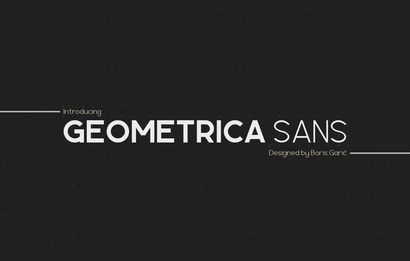 Download Geometrica font (typeface)