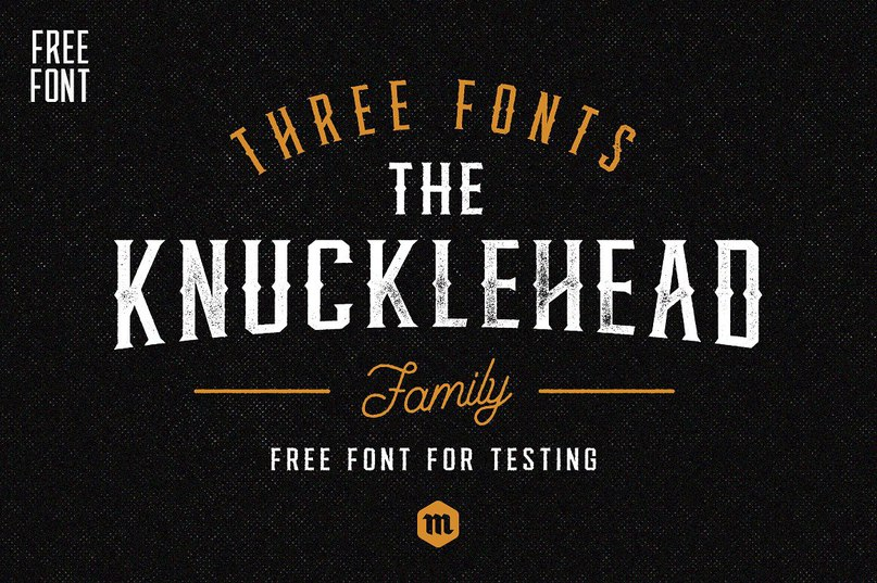 Download Knucklehead font (typeface)