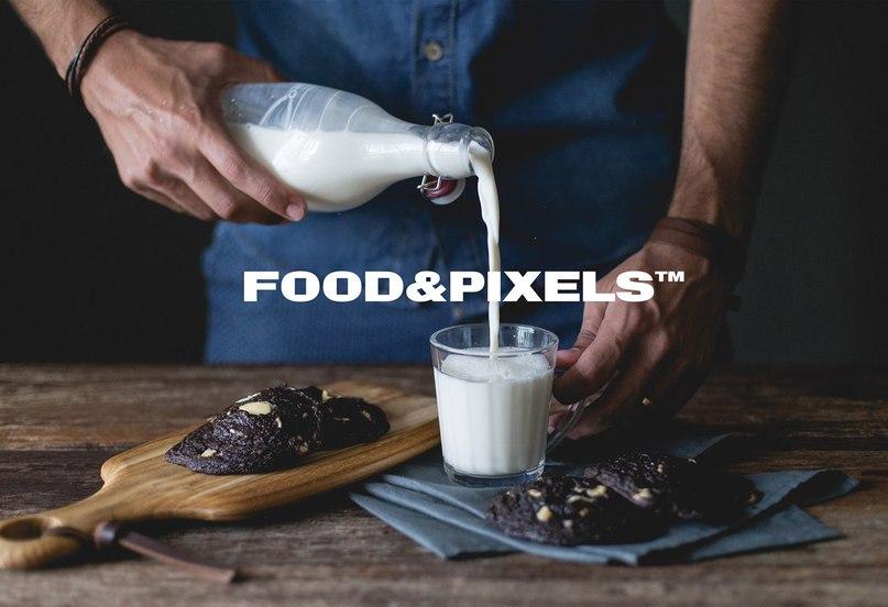 FOOD&PIXELS шрифт скачать бесплатно