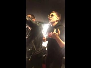 Noize MC и Слава КПСС зачитали трек