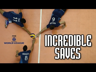 TOP 30 Volleyball DIGS -  Volleyball Best Moments - World League 2017