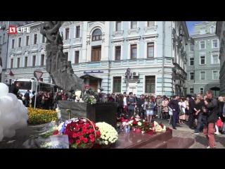 Митинг «Без слов» в память о жертвах трагедии в Беслане