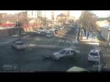 ДТП мото на ул. Красных Партизан и ул. Герцена.