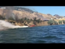 Как потушить пожар с помощью катера?