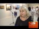 Открытие выставки М.В. Копьёва «Мифы у порога. Открытая книга» ТелеСеть Мордовии
