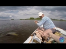 Трофейный СОМ на квок. Рыбалка на Днепре