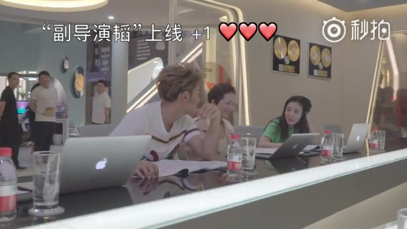 170724 ZTAO @ ZTAO Studio Weibo update [170720 «The Brightest Star in The Sky» drama media visiting event]
