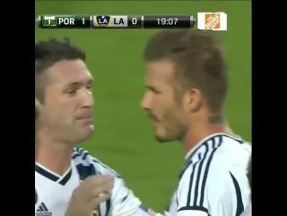 Великолепный гол Бекхэма в MLS