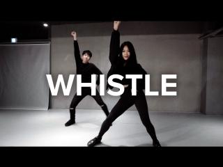 1Million dance studio Whistle - Blackpink / Beginners Class