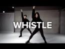 1Million dance studio Whistle - Blackpink  Beginners Class
