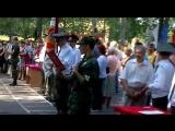 Армия присяга 2010г. ВЧ 7487 ВВ МВД РФ город Киров