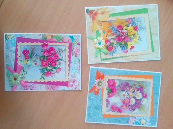 Нежные весенние открыточки для вас...