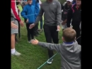 It's not much for Rory McIlroy, but it's something this kid will remember his entire life