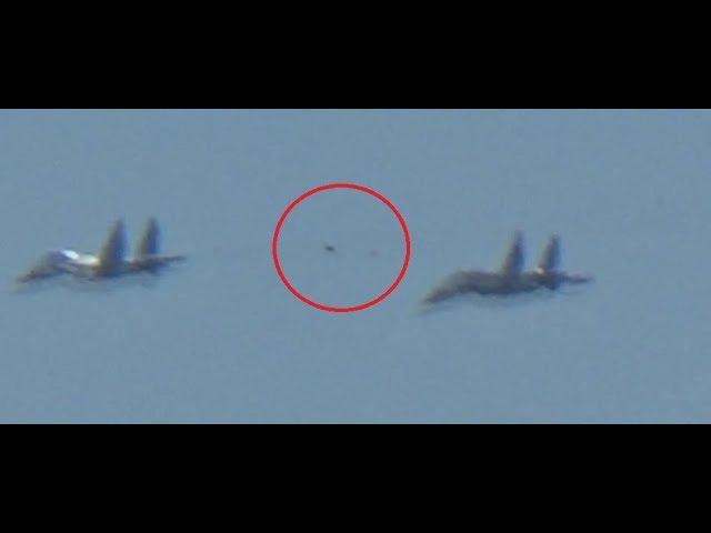 НЛО преследовал российские истребители СУ-34