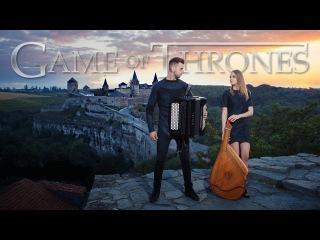 Game of Thrones - Soundtrack | FOLK COVER VERSION | Bandura & Accordion | Music Season 8