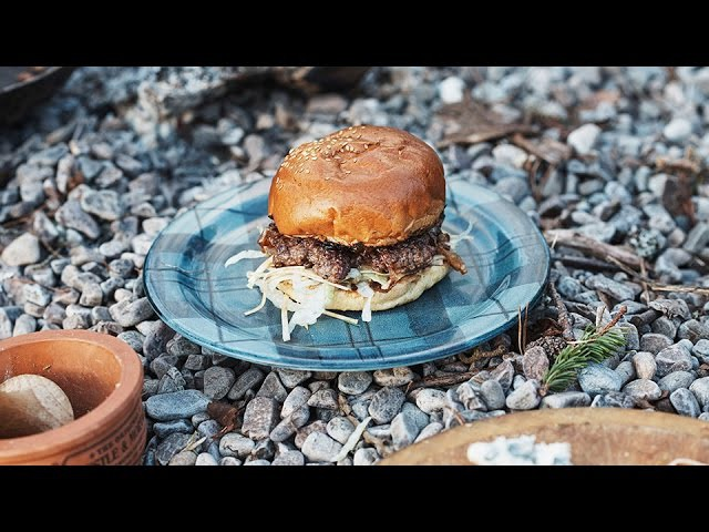 How To Make a Deliciously Wild Venison Burger | MR PORTER
