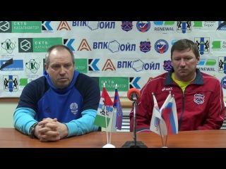 Пресс-конференция О.Чубинского и Э.Трифонова